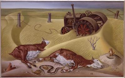 Drought survivons (Les rescapés de la sécheresse) Alexandre Hogue