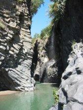 Gorges d'Alcantara en Sicile