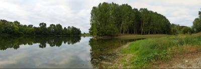 confluence de la Loire et de l'Indre - photo Vanaspati