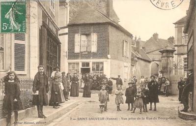 Saint-Sauveur-en-Puisaye, le village de Colette vers 1900/1910