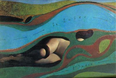 Le Jardin de la France - Max Ernst, 1962