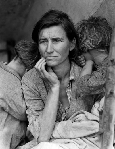 Dust Bowl - Migrant mother - Dorothea lange, 1936