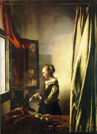 Liseuse à la fenêtre - Vermeer -