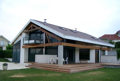 maison Brun à Annecy-le-Vieux, architecte Bernard Lemaire