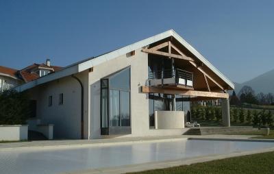maison Brun à Annecy-le-Vieux, - architecte Bernard Lemaire