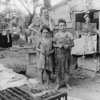 mère de famille pauvre, Californie - Dorothea lange, 1936