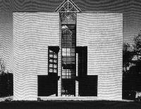 maison à Pregassona (Tessin), architecte Mario Botta, 1979