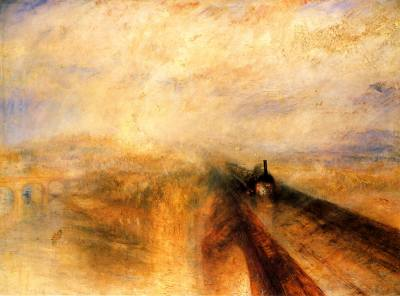 1844 - Turner -  Rain, Steam and Speed, the Great Western Railway