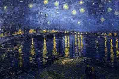Nuit étoilée - van Gogh, 1888