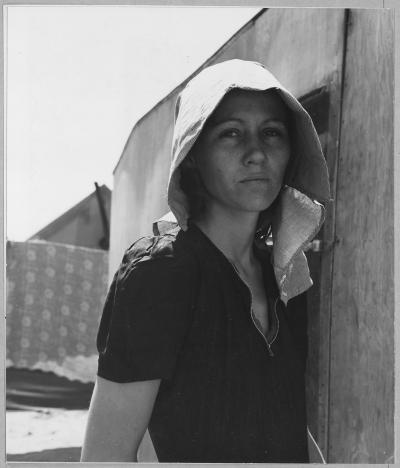 jeune mère immigrante en Californie - Dorothea Lange, 1940