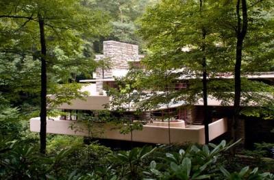 la maison sur la cascade, 1936-39 - Frank Lloyd Wright