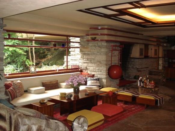 La maison sur la cascade 1936 39 frank lloyd wright for Maison de la cascade