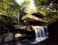 Maison sur la cascade, 1836-39, Pensylvanie - architecte Frank Lloyd Wtight