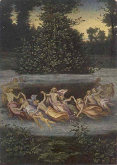 la danse des Elfes par Moritz von Schwind