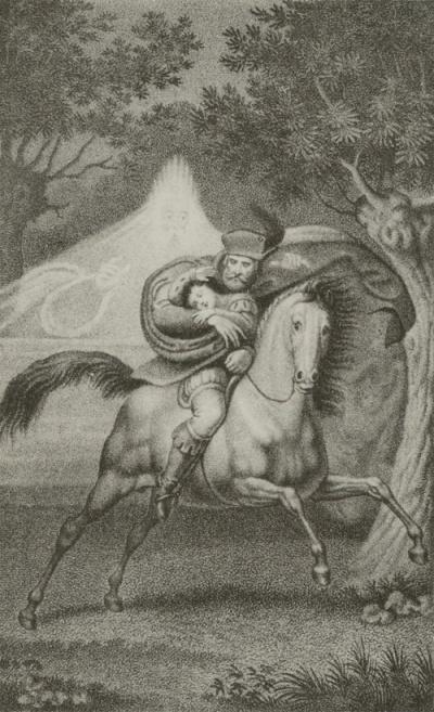 Erlkönig, Gustav Heinrich Naeke, 1827-1834