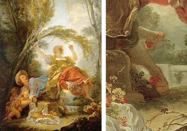 Fragonard, la Bascule - 1750-52