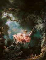 Fragonard, les hasards heureux de l'escarpolette, 1767-1768