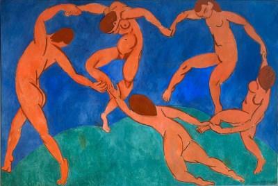 Henri Matisse, La Danse, 1908 - Saint-Pétersbourg, Ermitage