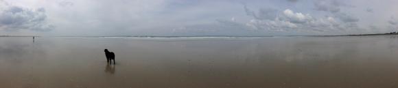 la plage de la baie d'Audierne