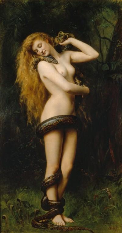 Lilith par John Collier (1892)