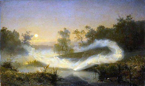 La danse des Elfes, par August Malmstöm (1866)