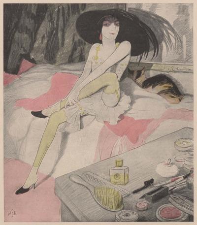 Walter Schnackenberg, Faschingskavaliere – 1912, revue Simplicissimus