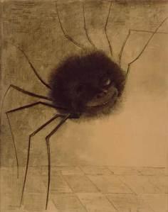 Odilon Redon, l'araignée