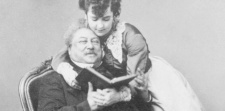 Alexandre Dumas père (1802-1870), ici avec Melle Merken