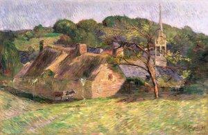 paysage attribué à Gauguin