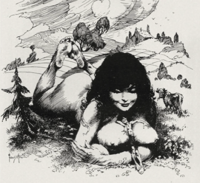 Frank Frazetta, the Giantess