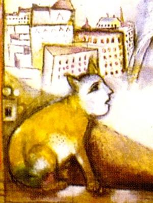 chagall Paris par la fenêtre