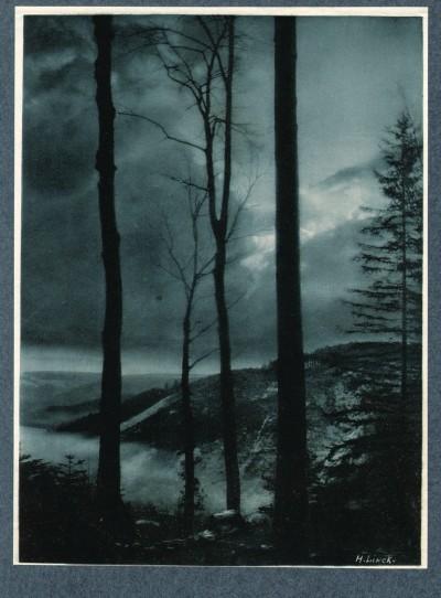 Crépuscule, 1904 - photographe Hermann Linck