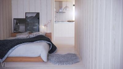 Avanto Architects : maison à Virrat en Finlande – chambre