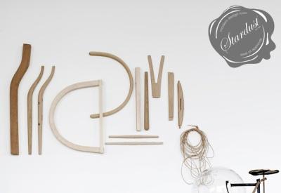 éléments concourant à la fabrication de la Wishbone chair
