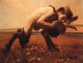 Le Faune, Carlos Schwabe, 1923