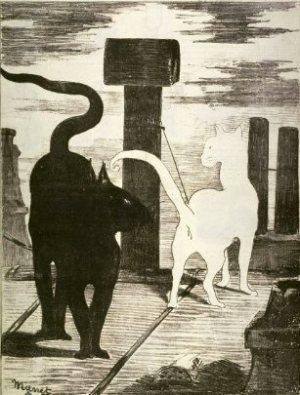 le RV des chats 1868-_manet