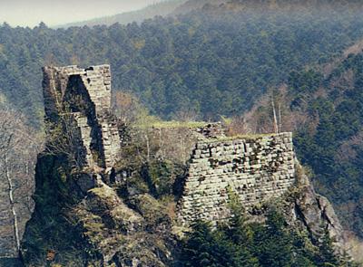 Ruines du château de Nideck