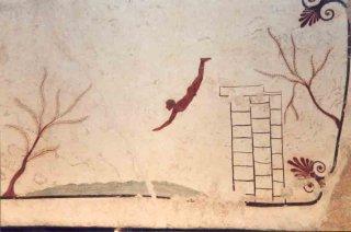 Tombe du plongeur à Paestum