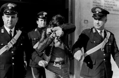 Palerme,1984. Arresto in manette e catene alla Squadra Mobile