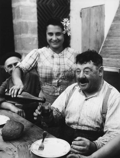 le vigneron de Cavignac en Gironde,  1945 - Willy Ronis