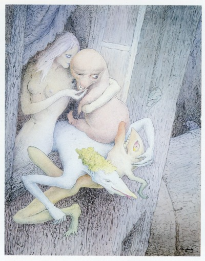 """Walter Schnackenberg - """"Lichtscheues Gesindel,"""" 1950"""