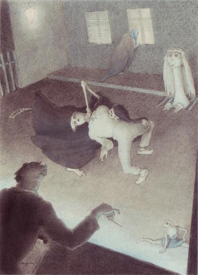 Schnackenberg - Death on the stage - 1957