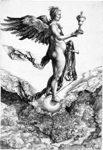 Albrecht Dürer - Nemesis - vers 1502