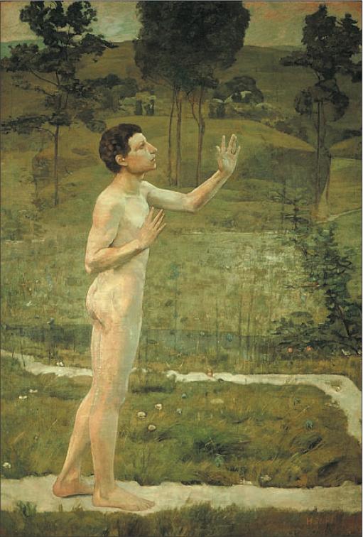 """Ferdinand Hodler - """"Dialogue intime avec la Nature"""" - 1884 -"""