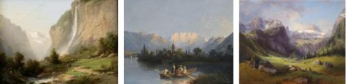 Paysages peints par le peintre Ferdinand Sommer