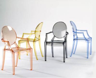 Design Du Mobilier La Chaise Louis Ghost De Chez Kartell