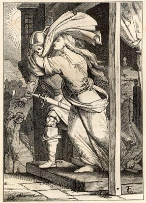 Lénore - illustration de Friedrich Gesellschap - 1866