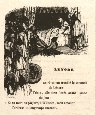 Lénore - Octave Penguilly - 1842