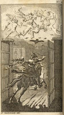 Lénore - illustration de Daniel Chodowiecki - 1789