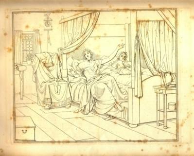 Lénore - illustration de Moritz Retzsch - 1840